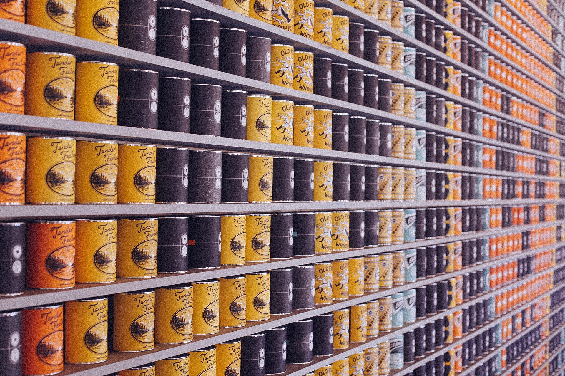 2020.10. Stamegna Virtual Meeting - Canned Food and Condiments